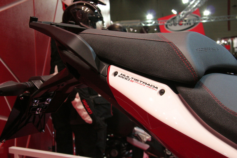 9/10: Launch of the 2013 Ducati motorcycle range, including the new updated Multistrada 1200 Pikes Peak edition, at the Intermot International Motorcycle Show in Cologne, Germany, Oct 2012.