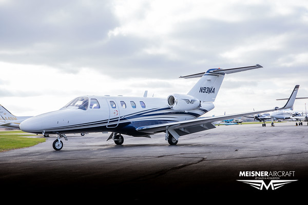 Citation CJ1 N93MA (Low Res w/Logo)