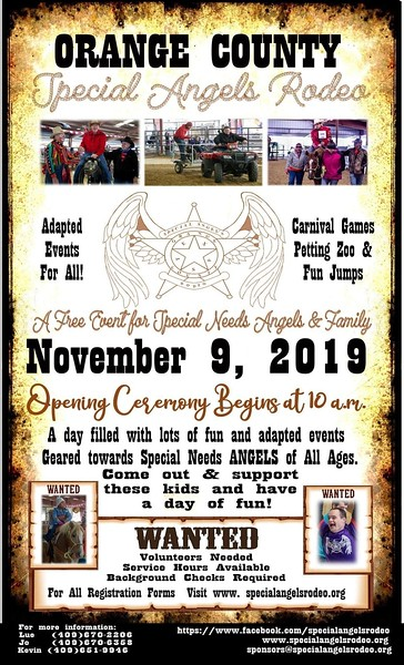 Special Angels Rodeo 2019