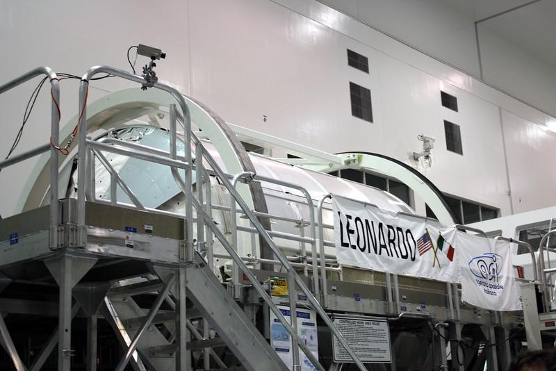 The Multi-Purpose Logistics Module Leonardo, developed by the Italian Space Agency