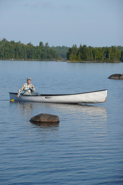 Solitary Mission. Lac Poulter, La Vérendrye Wildlife Reserve