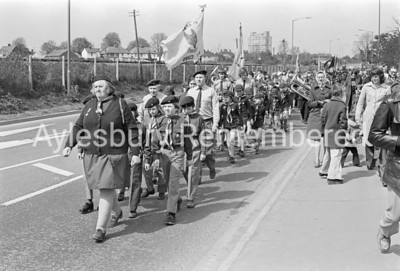 St George's Day parade, Apr 25 1976