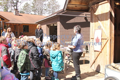 Learning About Maple Syrup at the Peterson's