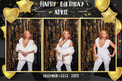 April's 45th Birthday 12/21/19