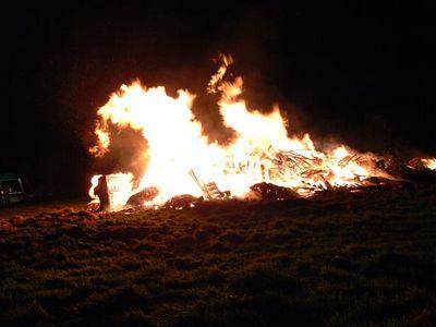 Glentham Village Bonfire 2005