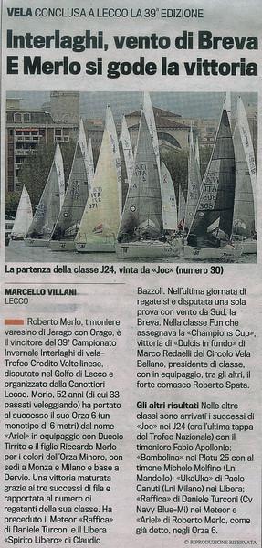 2013Nov04_Interlaghi | La Gazzetta| Interlaghi, vento di Breva E Merlo si gode la vittoria.jpg