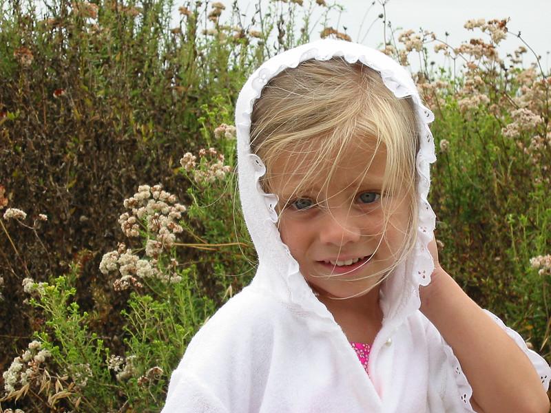 SD--LJ in robe at estuary.jpg