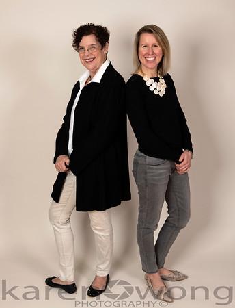 Diana and Cheryl 2020