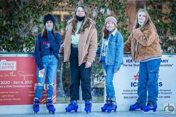 Ice Skating at Frisco Square