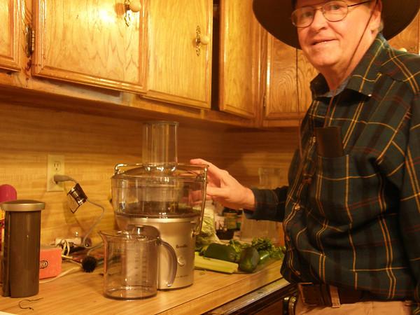 Dad Gets a Juicer!