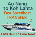 Ao Nang to Koh Lanta Express Transfer