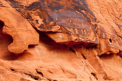 Petroglyphs in Valley of Fire