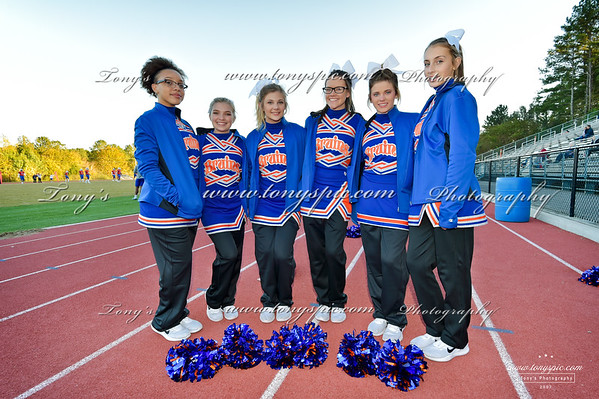 Jv Cheerleaders @ Dalton Game 26 Oct