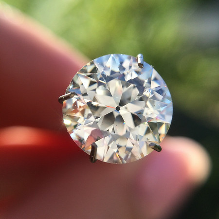 2.69ct Old European Cut Diamond, AGS L, SI2