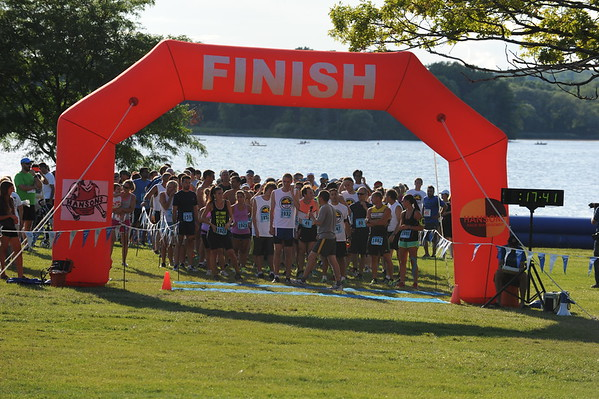 10K Start - 2015 Stony Creek Distance Run