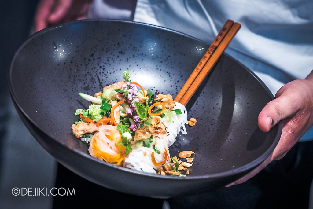 Resorts World Sentosa - RWS Street Eats Showdown - Bún Thịt Nướng by Chef Steven Long