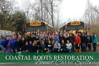 Coastal Root Restoration Field Trip