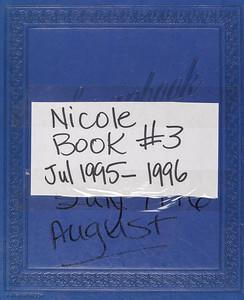 Nicole book #3      July 1995 - 1996