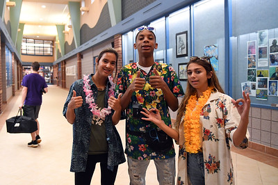 Hawaiian Day (Tuesday, 9/25/2018)