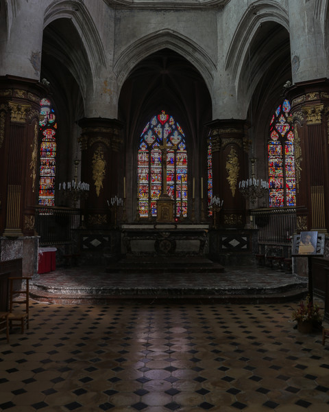 Troyes Sainte-Madeleine Church Choir