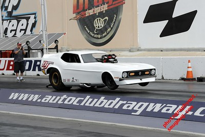 SCEDA June 16, 17, 2018 Mustang Nostalgia Funny Car Autoclub Speedway Dragway Fontana Ca.