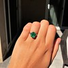 3.08ct Vintage Emerald Solitaire, by Tiffany & Co 8