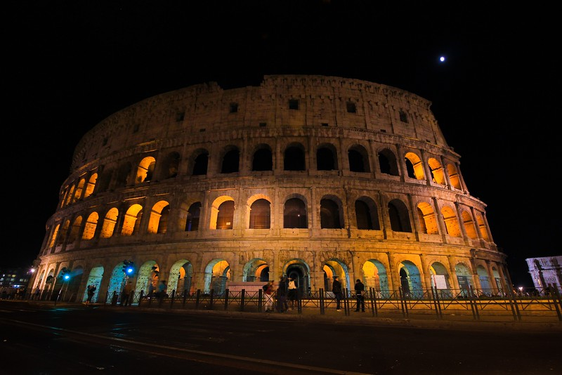 AITALY 2015,11 240A, SMALL, Colusseum at night, Rome.jpg