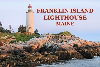 Franklin Island Light, Maine