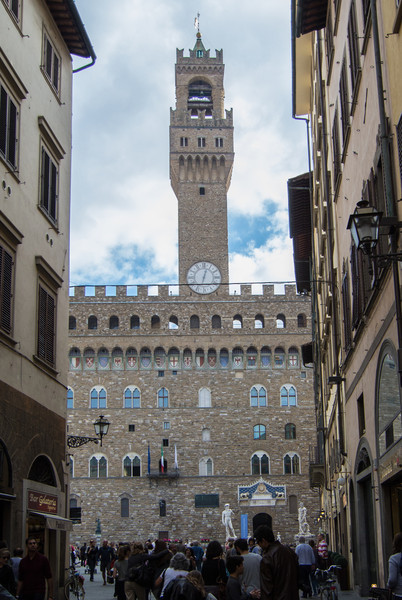 Palazzo Vecchio in Piazza della Signoria - heart of Florence