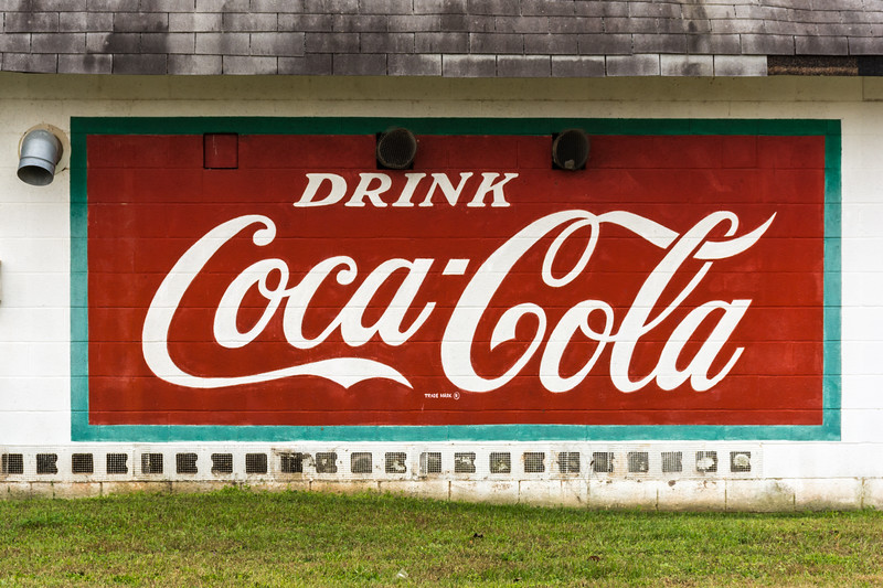 GA, Maysville - Coca-Cola Wall Sign 02