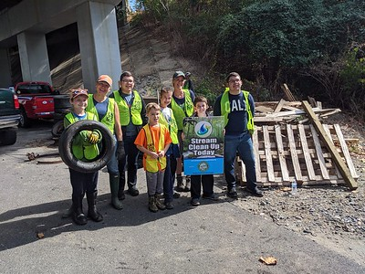 10.12.19 Patapsco River Cleanup at Route 1