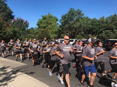 Chico and Oroville police, CHP, BCSO join Special Olympics 'Flame of Hope' torch run