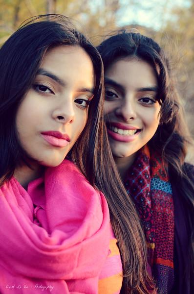 Villegas Twins Fall Portrait Session _ Nov 2015