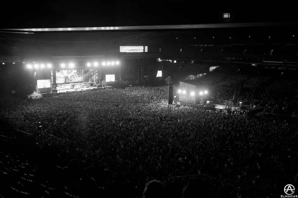 Part of Metallica's crowd