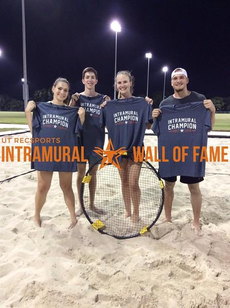 Summer 2018 Spikeball Champion