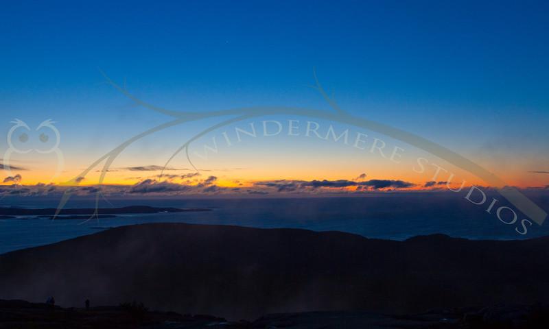 Acadia Day 1: Sunrise on Cadillac Mountain