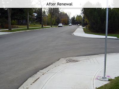 Neighbourhood Renewal Construction Process