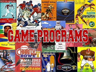 Official Game Day Programs and Team Media/Press Guides