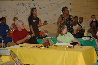Show Up Community Meeting Sept 10, 2005