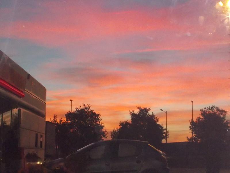 J'aime beaucoup, parceque  le levé du soleil a été beau