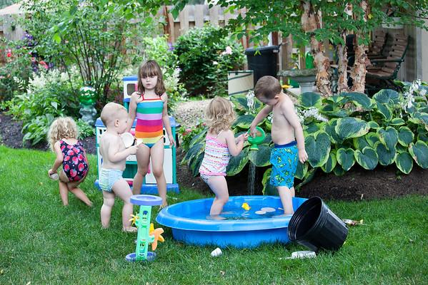 Fun in Grandma's Backyard