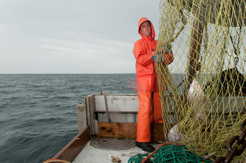 73. Groundfishing aboard the Stormy Weather, NH for The Scientist Magazine, 2009.