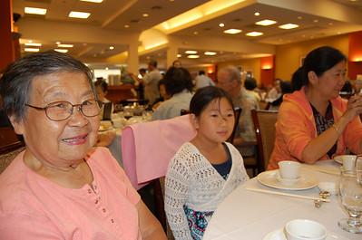 Yen family dinner for Kaitlin's bday