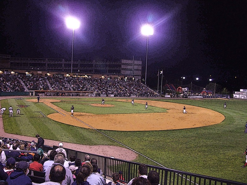 Play Ball - LeLacheur Park - Lowell, MA