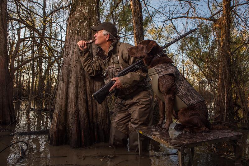 Duck hunting in Louisiana