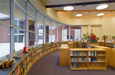 Lake Pointe Elementary, Saginaw, TX.  Client: VLK Architects, Fort Worth, TX.  TASA/TASB Design Award 2009