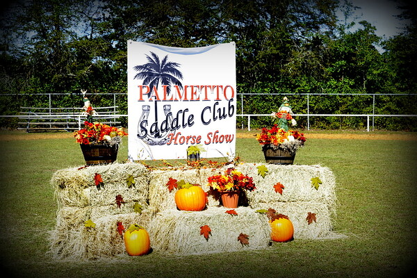 Palmetto Saddle Club Horse Show  NOV 2,,  2019