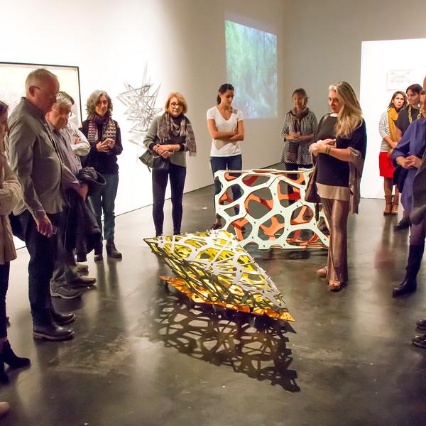 Linda Fleming exhibition walkthrough