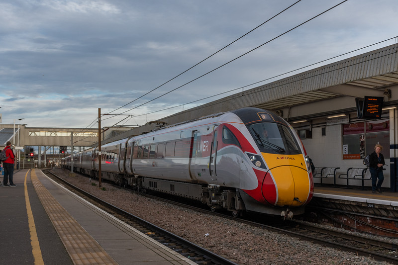 LNER Azuma 800108, Peterborough