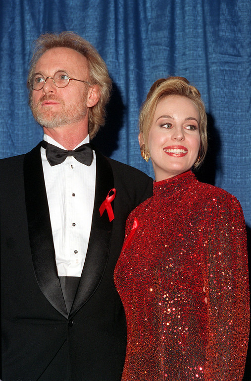 . Daytime soap opera stars Anthony Geary, left, and Genie Francis are shown in May, 1993.  (AP Photo)